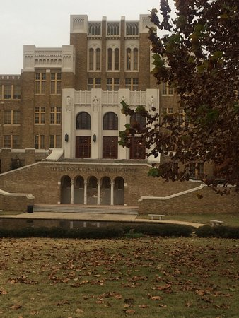 Little Rock Central High School: What a humbling experience. No one should need the us army to attend a school. Civil Rights are