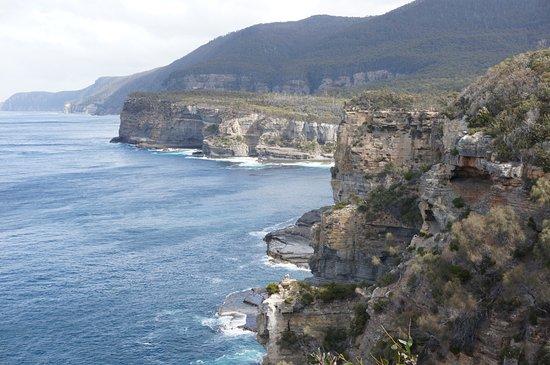 Eaglehawk Neck, Australien: Lookout from Tasman Arch