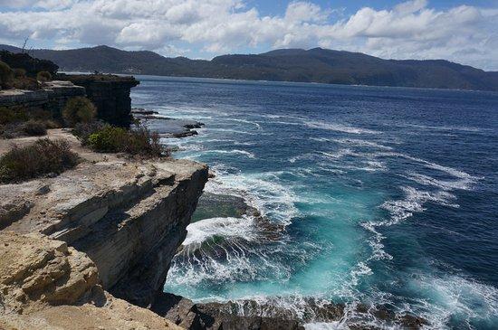 Eaglehawk Neck, Australien: Different view from Tasman Arch lookout