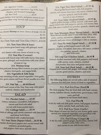 Goodlettsville, TN: This is the latest menu. Everything they serve is so amazing!