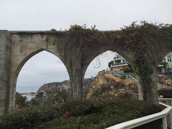 Dana Point, CA: These arches are relics from the past.
