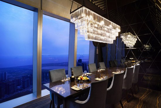 Oakwood Premier Incheon: Panoramic65 Bar & Dining - Private Dining Room