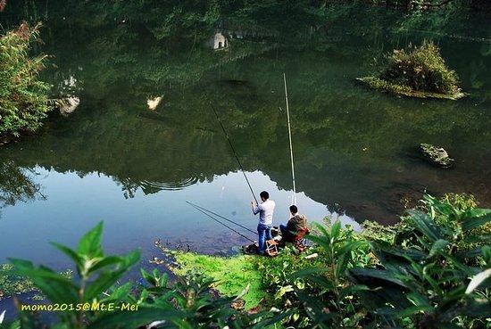 Emeishan, China: QingYinPing Lake