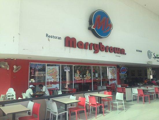 gm klang wholesale city marrybrown fried chicken ground floor