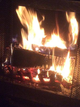 Whitney, Canada: Roaring fire