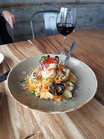 Burlingame, Californie : Peruvian Paella!