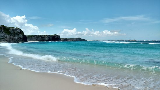 Middle Caicos: harbor