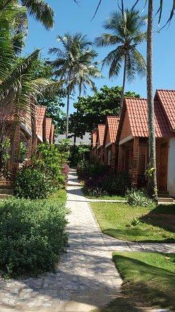 Phuong Binh House: De huisjes aan een rustig laantje.