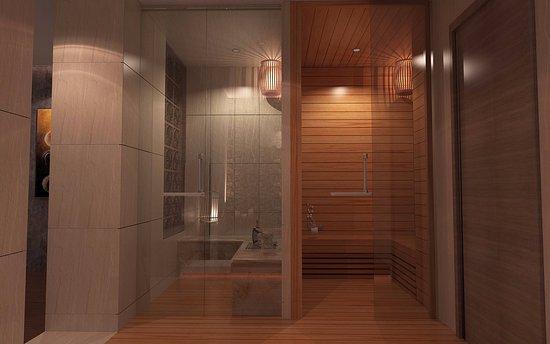 Marvelous Urban Oasis Spa: Sauna U0026 Shower VIP