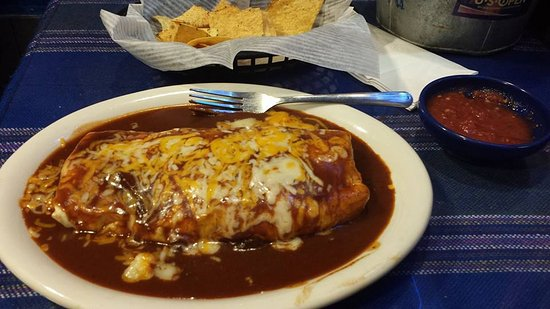 La Cantina: #2 Burrito
