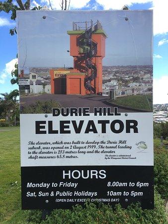 Wanganui, Nueva Zelanda: Plakat / Öffnungszeiten