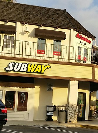Tustin, CA: Subway