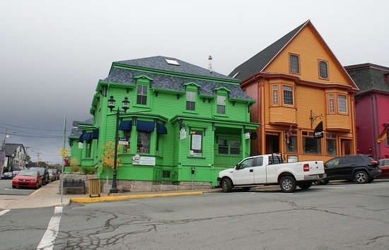 Colourful Houses in Lunenburg