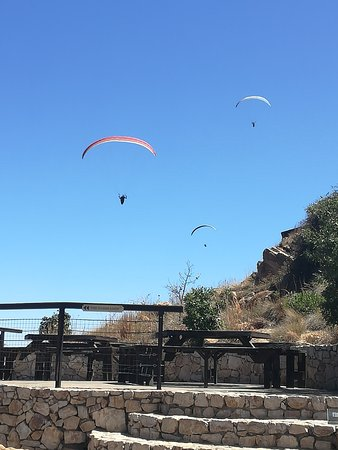 Hartbeespoort, South Africa: Para gliders