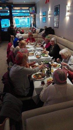Ebbw Vale, UK: Xmas at Morgans
