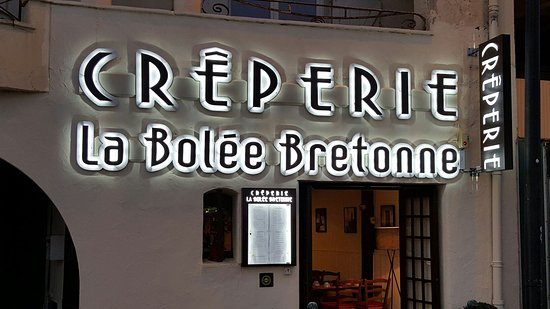 Creperie La Bolee Bretonne depuis 1975 ouvert à l'année: La Bolée Bretonne