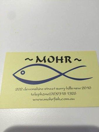 Mohr Fish, Sydney - Surry Hills - Restaurant Reviews ...