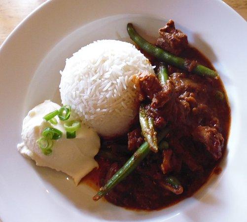 Mount Barker, Australia: Madras pork curry