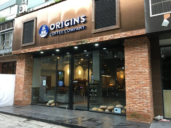 storefront picture of origins coffee company chengdu tripadvisor