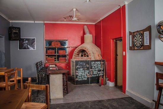 Swellendam, Sudáfrica: PIZZA OVEN