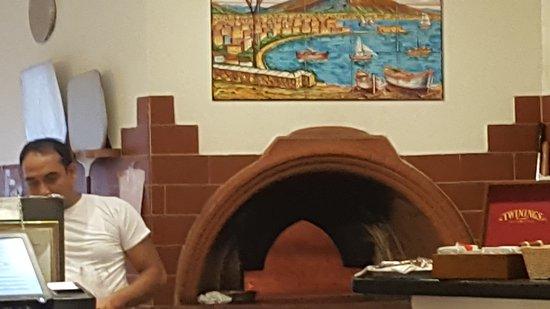 Clarens, Suíça: un rizotto aux cepes delicieux