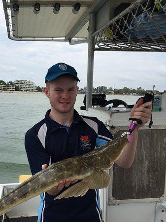 Noosaville, Australia: 80 cm Flathead!