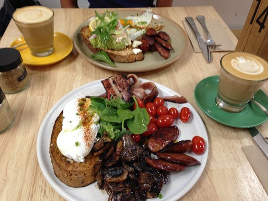 Cape Naturaliste, Australia: Great Breakfast & coffee