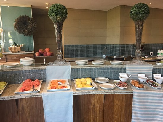 Fourways, South Africa: Breakfast buffet.