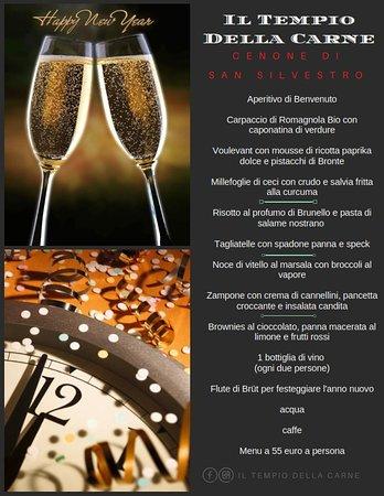 Касальмаджиоре, Италия: E non poteva mancare il grande cenone di Capodanno!!! Festeggiamo insieme l'inizio del nuovo ann