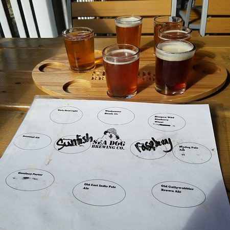 Topsham, ME: taster flight