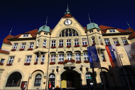 Town Hall is one of the most magnificent buildings in Ptuj