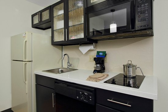 Rogers, AR: Each suite includes a kitchenette