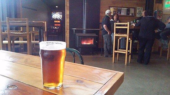 Methven, New Zealand: 薪ストーブも有ります