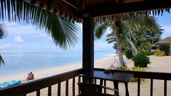 Titikaveka, Wyspy Cooka: Breakfast here & enjoy..