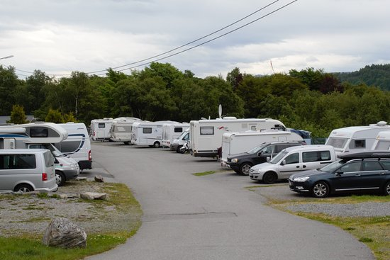Volsdalen Camping: Some of our places for caravans and campervans