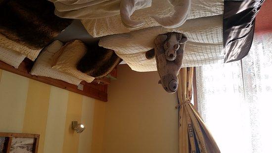 Punta terrarossa bild fr n hotel meuble gorret breuil for Hotel meuble gorret