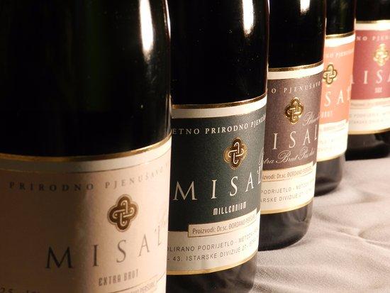 Visnjan, Κροατία: Misal sparkling wines