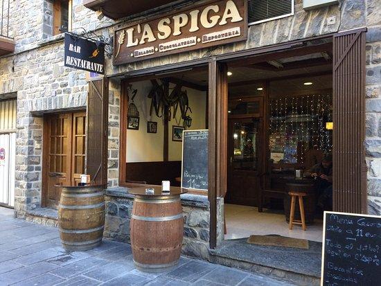 Bar L'aspiga, Biescas
