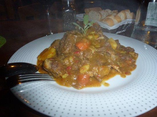 Villaverde, España: Goat stew