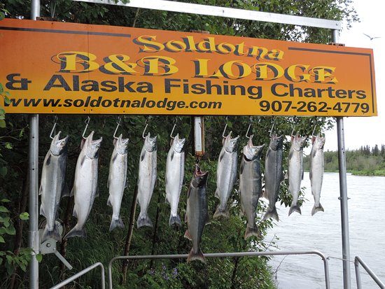 Alaska Fishing Lodge - Soldotna Bed and Breakfast Lodge