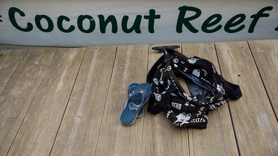Zatoka Simpson, Sint Maarten: Leave your  shoes behind!