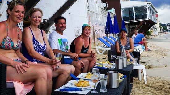 Simpson Bay, St-Martin/St Maarten: Gourmet Lunch at Grand Case Bay