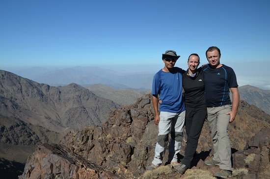 Imlil, Morocco: On our way to Toubkal Peak with Mohamed