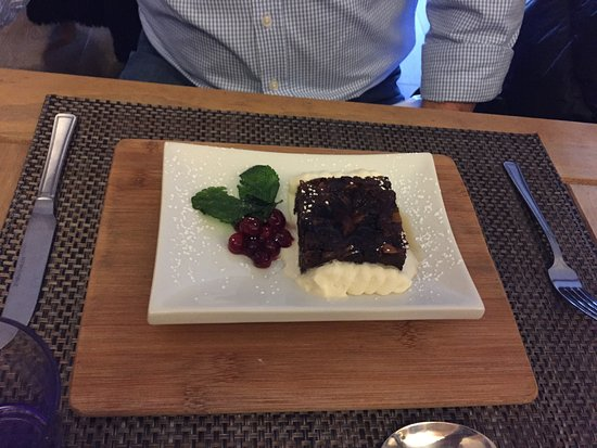 Farnham, UK: Christmas pud :-)