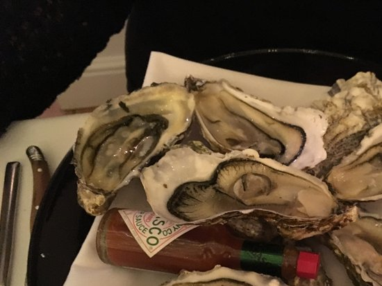 Titchwell, UK: Oysters