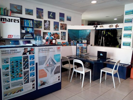 Windblue Diving: Zona de estudio