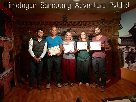 Kathmandu Valley, Nepal: Farewell Dinner and Certificate Distribution programme with Badr Family.