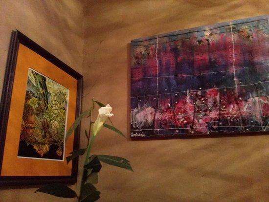 tinta restaurante cultural y galeria de arte decoracin interior