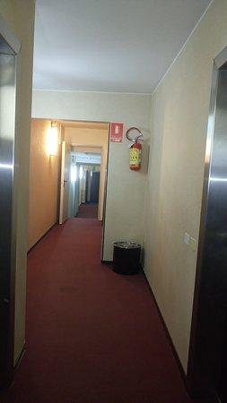 Castelvecchio  Aparthotel: Corridoio di accesso alle stanze
