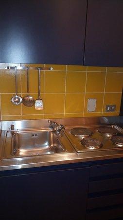 Castelvecchio  Aparthotel: Angolo cottura